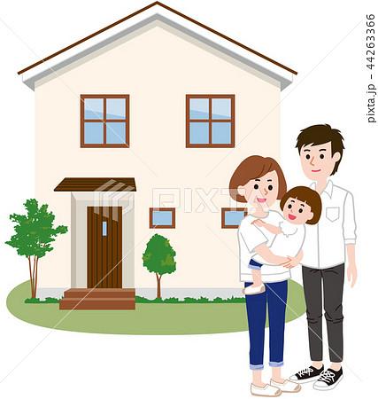 マイホーム 家族 44263366