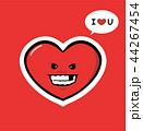 funny heart Character Love You 44267454