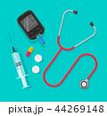 メディカル 医療 聴診器のイラスト 44269148