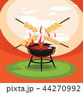 食 料理 食べ物のイラスト 44270992