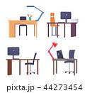 仕事場 テーブル 仕事のイラスト 44273454