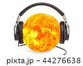 ヘッドフォン ヘッドフォーン 太陽のイラスト 44276638