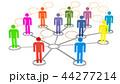 概念 ネットワーク 通信のイラスト 44277214