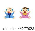 赤ちゃん 泣き顔 44277628