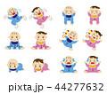 赤ちゃん イラストセット 44277632