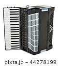 Modern digital accordion. 3D rendering 44278199