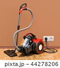 掃除機 電機掃除機 立体のイラスト 44278206