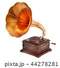 蓄音機 レトロ ビンテージのイラスト 44278281