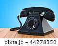 フォン 電話 木製のイラスト 44278350