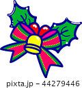 クリスマス 飾り ベルのイラスト 44279446