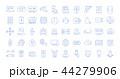 インターネット アイコン セットのイラスト 44279906