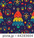 クリスマス パターン 柄のイラスト 44283604