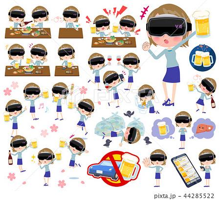 virtual reality goggle women_alcohol 44285522