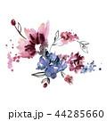 水彩画 花 花束のイラスト 44285660