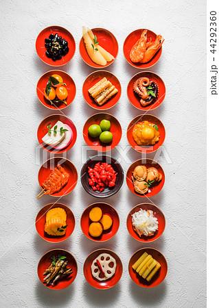 おせち料理 General Japanese New Year dishes(osechi) 44292360