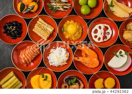 おせち料理 General Japanese New Year dishes(osechi) 44292362