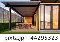 建造物 カフェテリア 食堂のイラスト 44295323