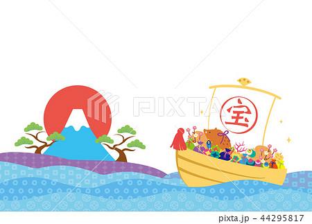 亥年-年賀状テンプレート 44295817