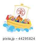 亥年-年賀状素材 44295824