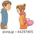 告白 ハート 恋のイラスト 44297805