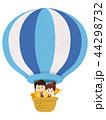 気球に乗ったベントスタッフ 44298732