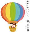 気球に乗ったベントスタッフ 44298733