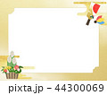正月 門松 背景のイラスト 44300069