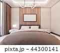 3D Rendering of Cozy Master bedroom 44300141