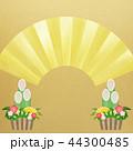 正月 門松 背景のイラスト 44300485