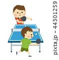卓球をする男性 44301259