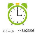 時計 時間 アイコン 目覚まし時計 44302356