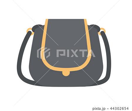Black Modern Handbag with Elegant Golden Elements 44302654