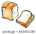 筆描き パン 食パン 44303190