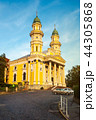 Greek-Catholic cathedral in evening light 44305868