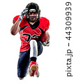 american football player man isolated 44309939