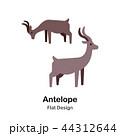 かもしか アンテロープ レイヨウのイラスト 44312644