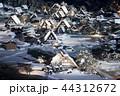 白川郷 ライトアップ 冬の写真 44312672