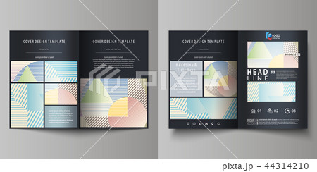 business templates for bi fold brochure magazine flyer booklet