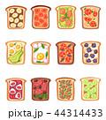 トースト 食 料理のイラスト 44314433