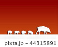 イノシシ 44315891