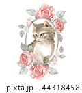 ねこ ネコ 猫のイラスト 44318458