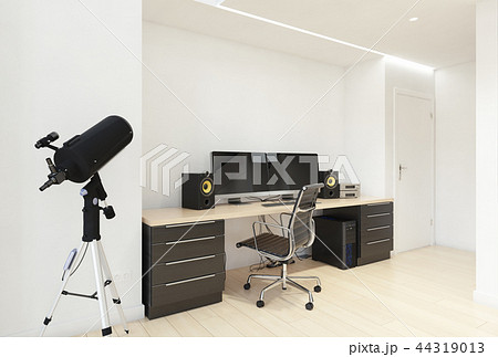 Home Office Interior.