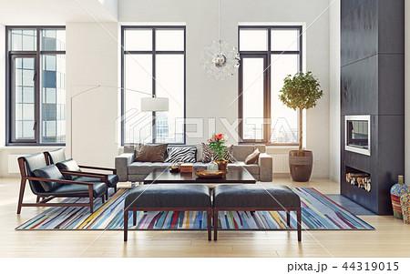 modern interior design. 44319015