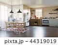 キッチン 厨房 台所のイラスト 44319019