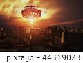 原子力 爆発 破裂のイラスト 44319023
