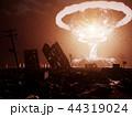 原子力 爆発 破裂のイラスト 44319024