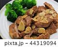 ポークステーキ ステーキ 豚肉の写真 44319094