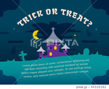 Halloween party graphic template 44320162