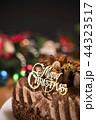 ケーキ チョコレート ロウソクの写真 44323517