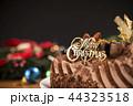ケーキ チョコレート ロウソクの写真 44323518